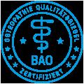 BAO Siegel Zertifizierung